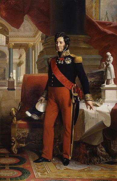 Portrait de Louis Philippe Ier (1773-1850), roi des français