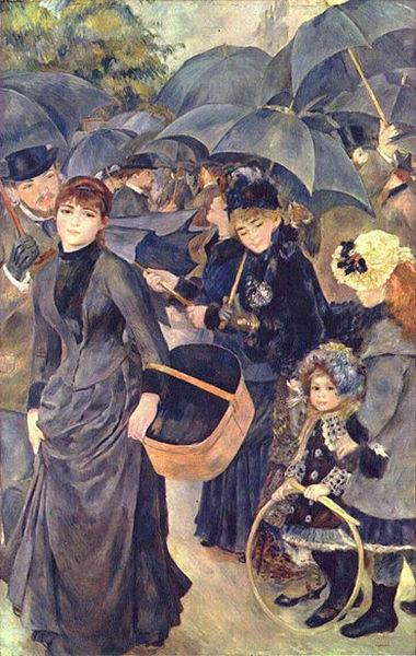 Auguste Renoir : les parapluies